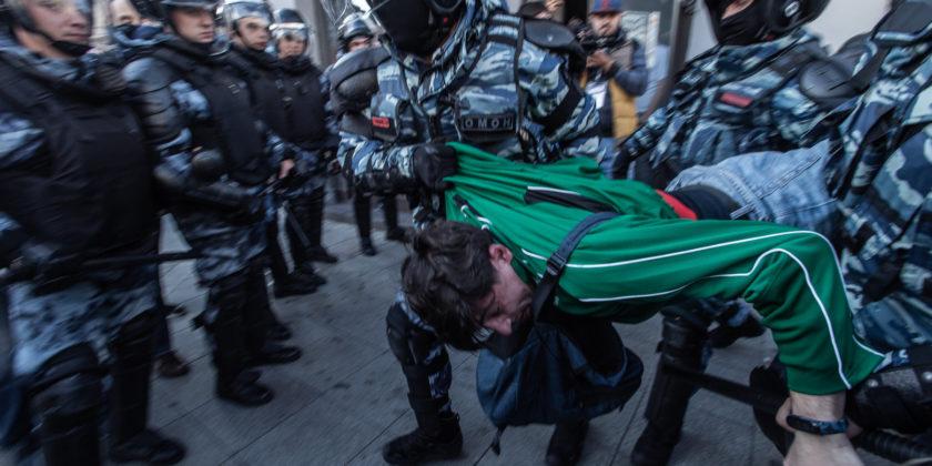 Proteste Moscova