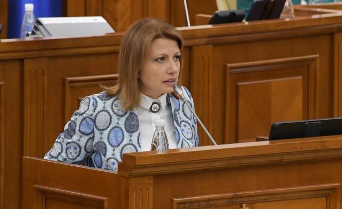 Deputata Arina Spătaru și-a dat demisia din funcția de membru al Biroului Politic Permanent al PPDA.