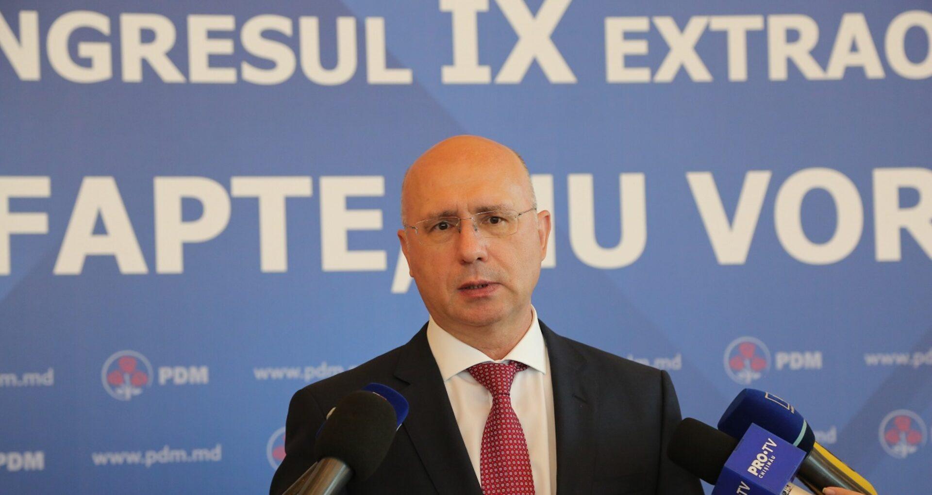 """VIDEO/ Pavel Filip cere președintei consultări: """"Suntem datori să le spunem oamenilor ce îi așteaptă"""""""