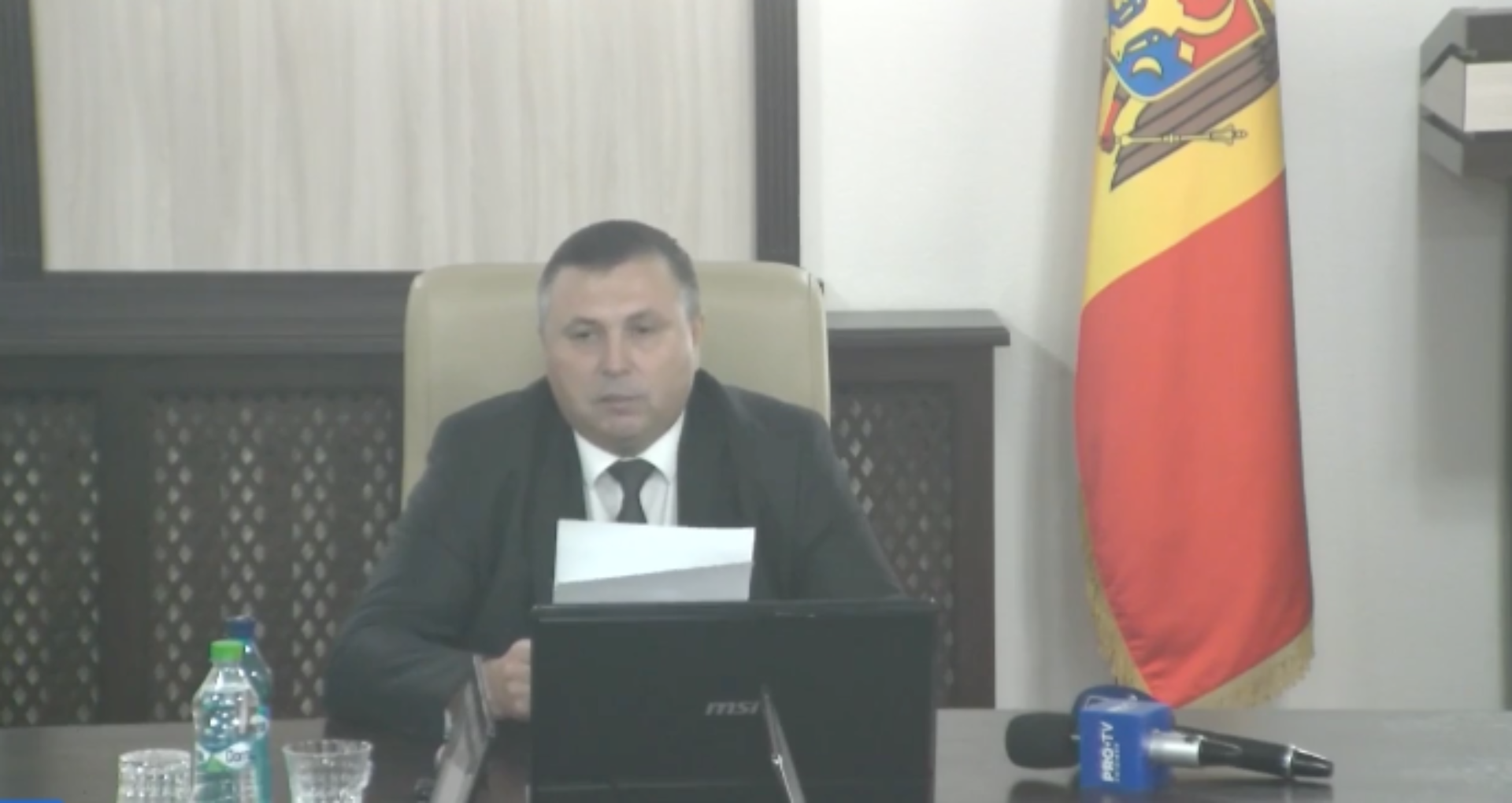 VIDEO/ Şedinţa CSM – fără cvorum. Examinarea solicitarii în privința judecătorului Sternioală, din nou amânată