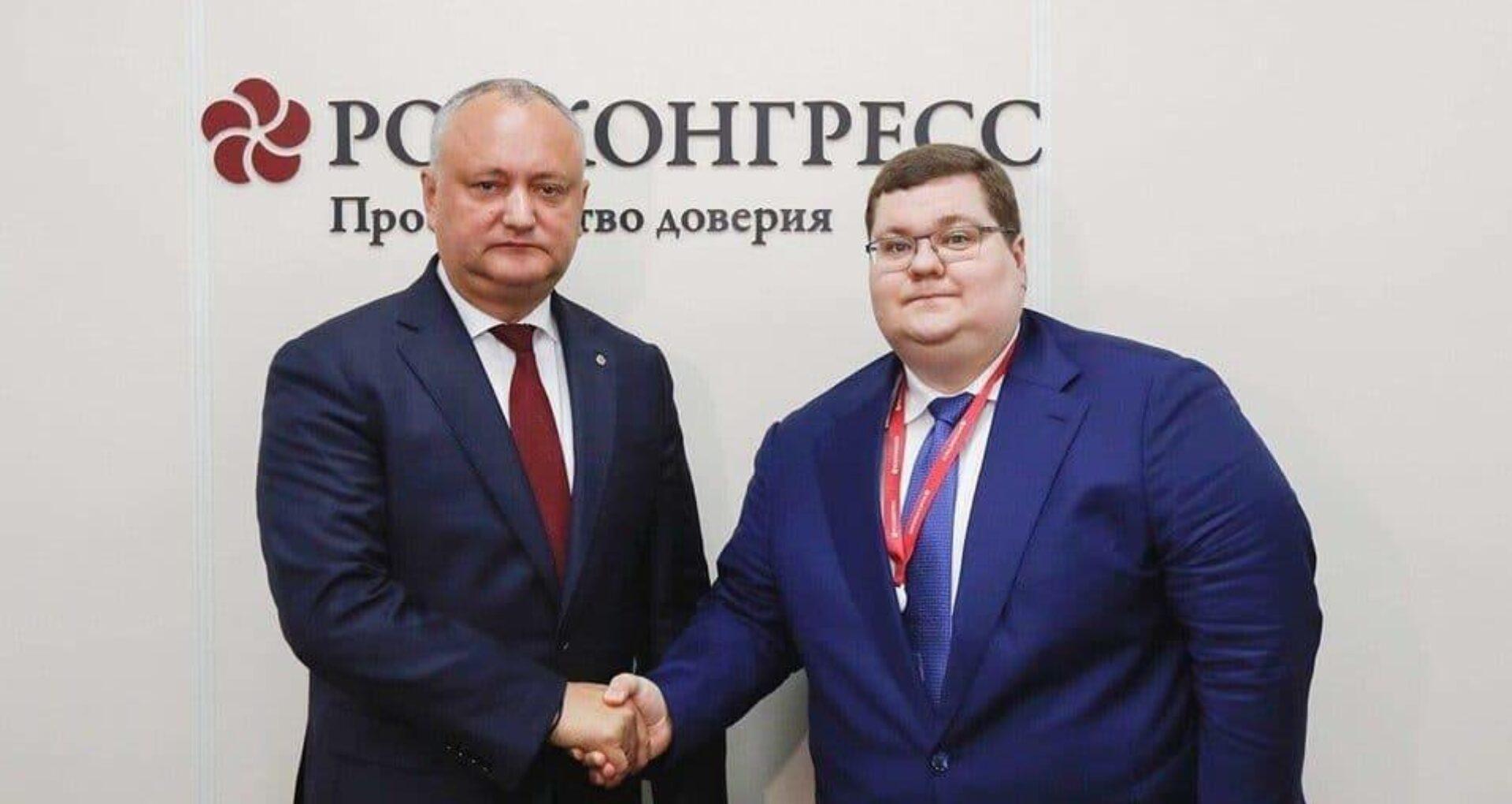 Cum explică Igor Dodon afacerile fratelui său cu fiul procurorului general al Federației Ruse