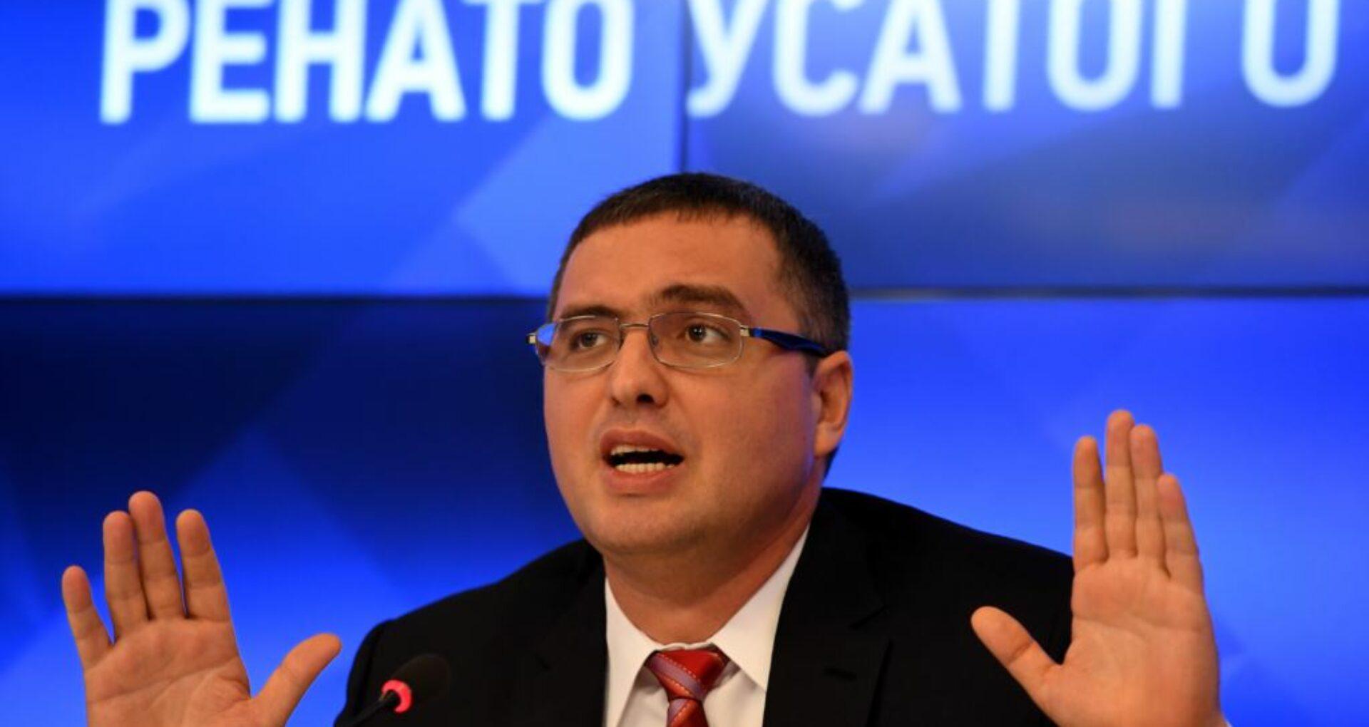 Usatîi susține că a fost dat în căutare de către Federația Rusă și că următorul pas al anchetatorilor va fi un demers la Interpol