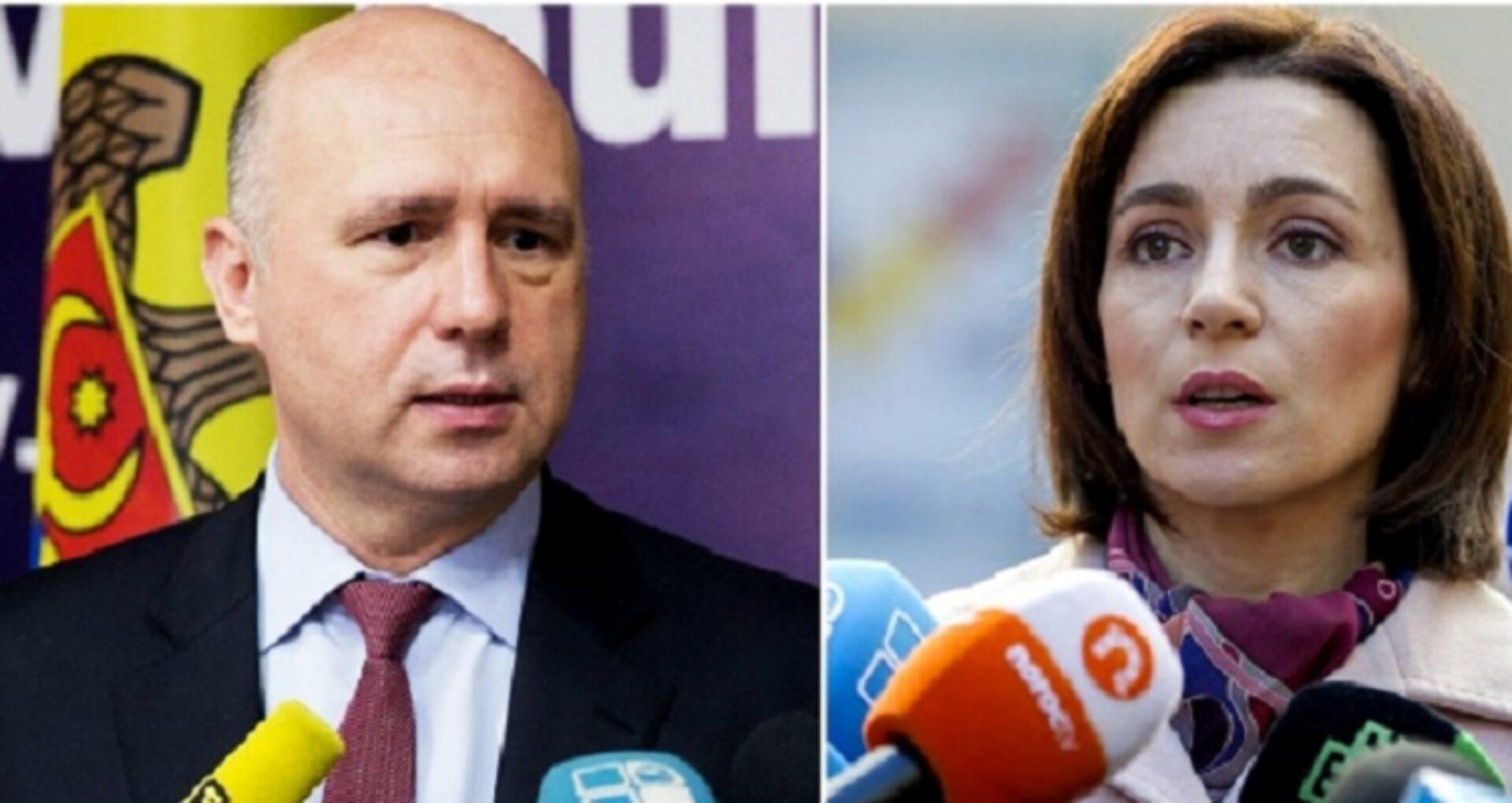 DOC/ Solicitare de la fostul premier Pavel Filip către actualul premier Maia Sandu