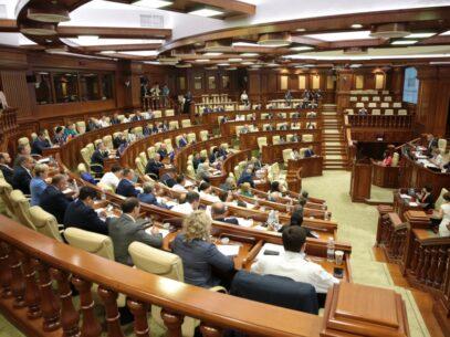 LIVE/ Ședința Parlamentului: PSRM depune o moțiune de cenzură împotriva Guvernului