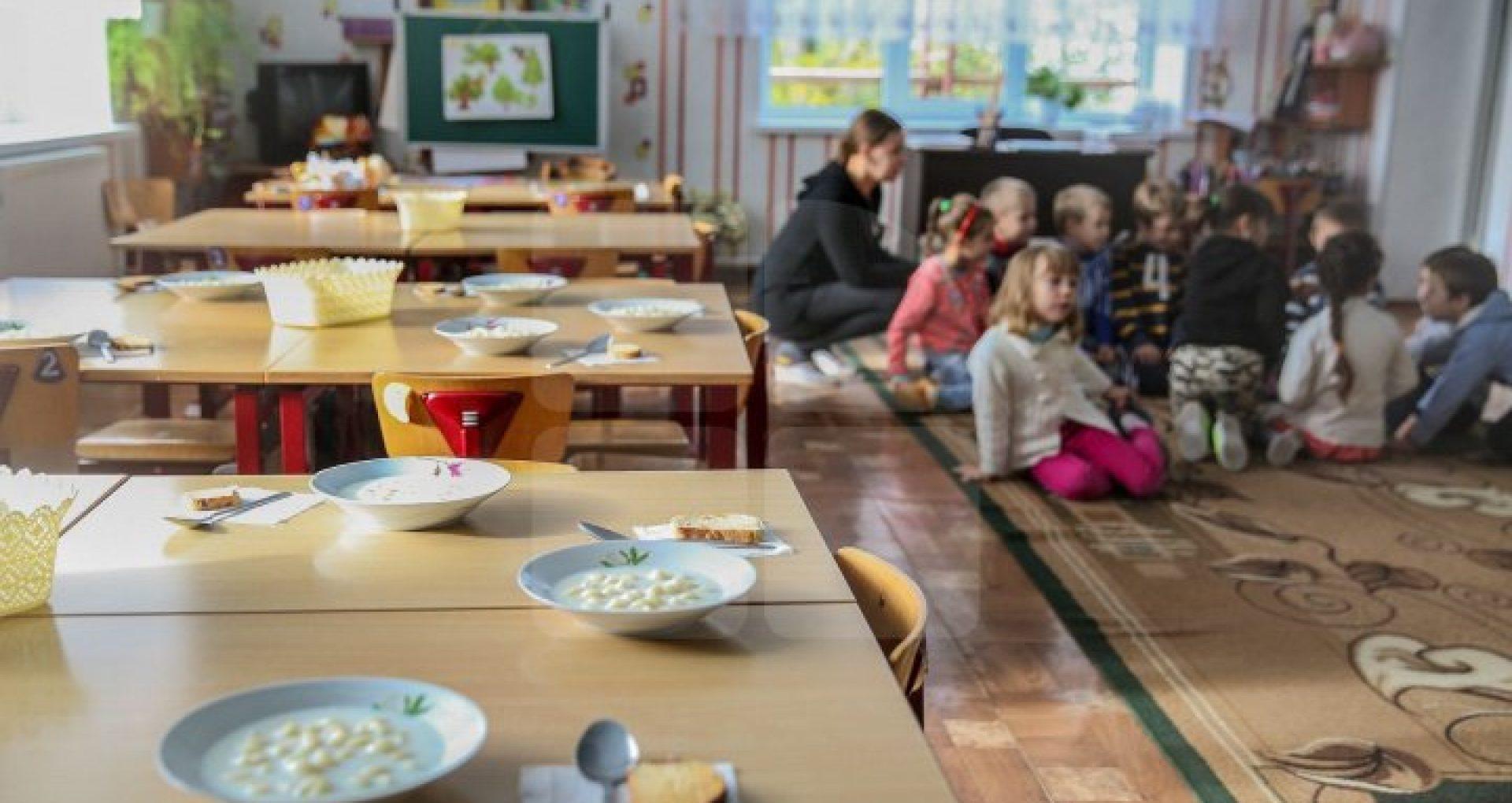 De la începutul anului curent, în grădinițele din Chișinău este aplicat meniul unic pentru alimentația copiilor