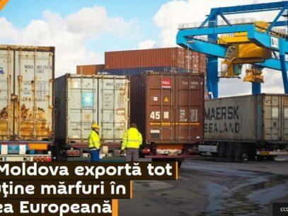 Speculații despre exporturile moldovenești: Sputnik vede scăderea exporturilor în UE, dar nu vede scăderea și mai mare în cazul CSI