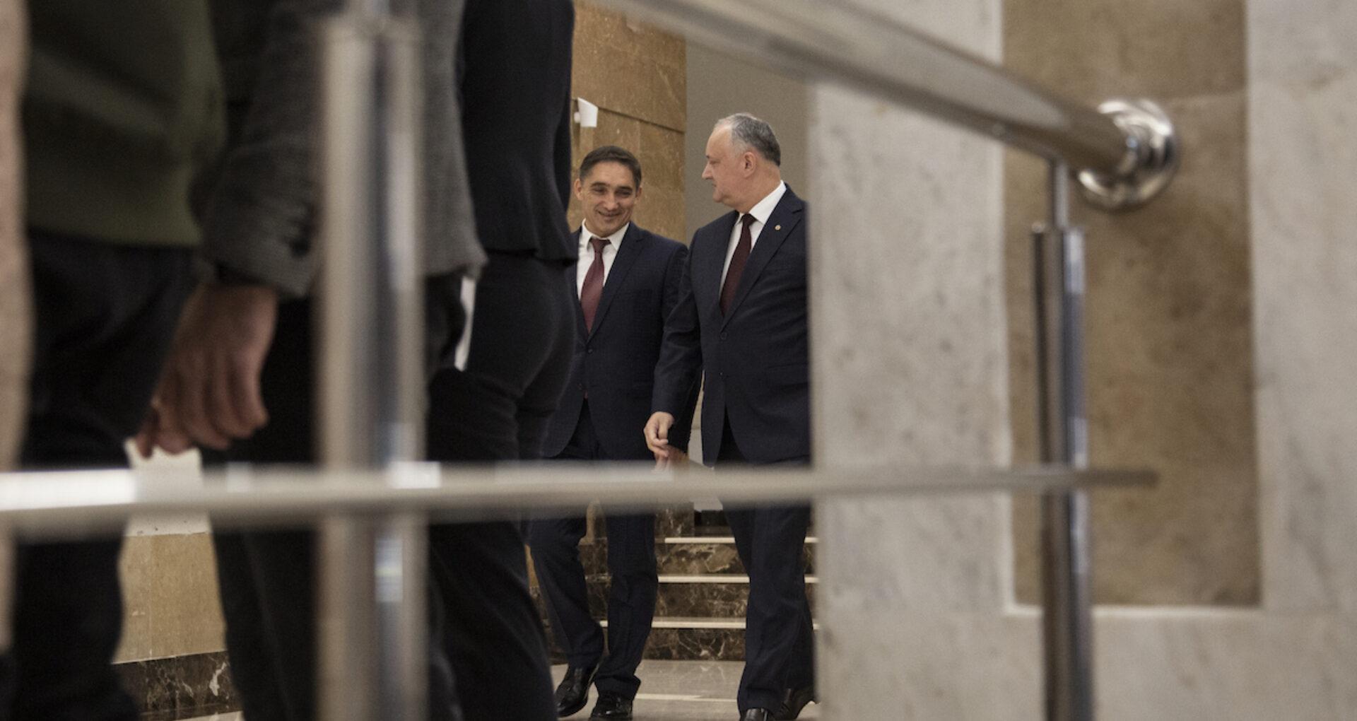 """Morari: """"Dodon mi-a spus că procuror general va fi Stoianoglo"""""""