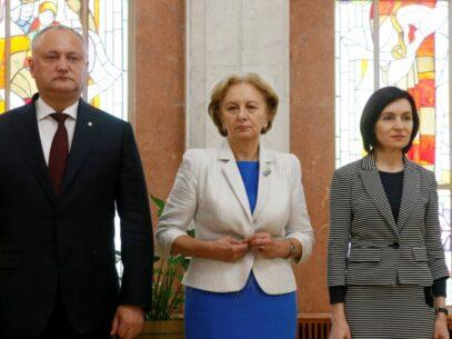 VIDEO/ Declarația PSRM după întrevederea cu Maia Sandu: Socialiștii au rupt documentul privind acordul dintre PSRM și ACUM