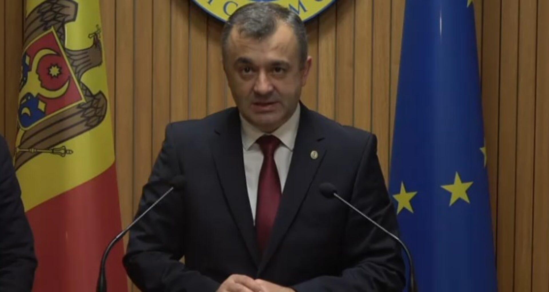 VIDEO/ Declarațiile premierului Chicu privind rezultatele vizitei la Moscova