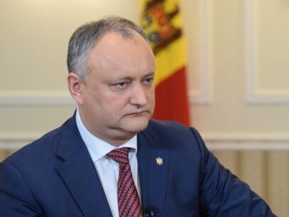 """Reacția lui Dodon după decizia CC: """"Este o lovitură dură aplicată milioanelor de moldoveni care așteptau ajutor din acești bani"""""""