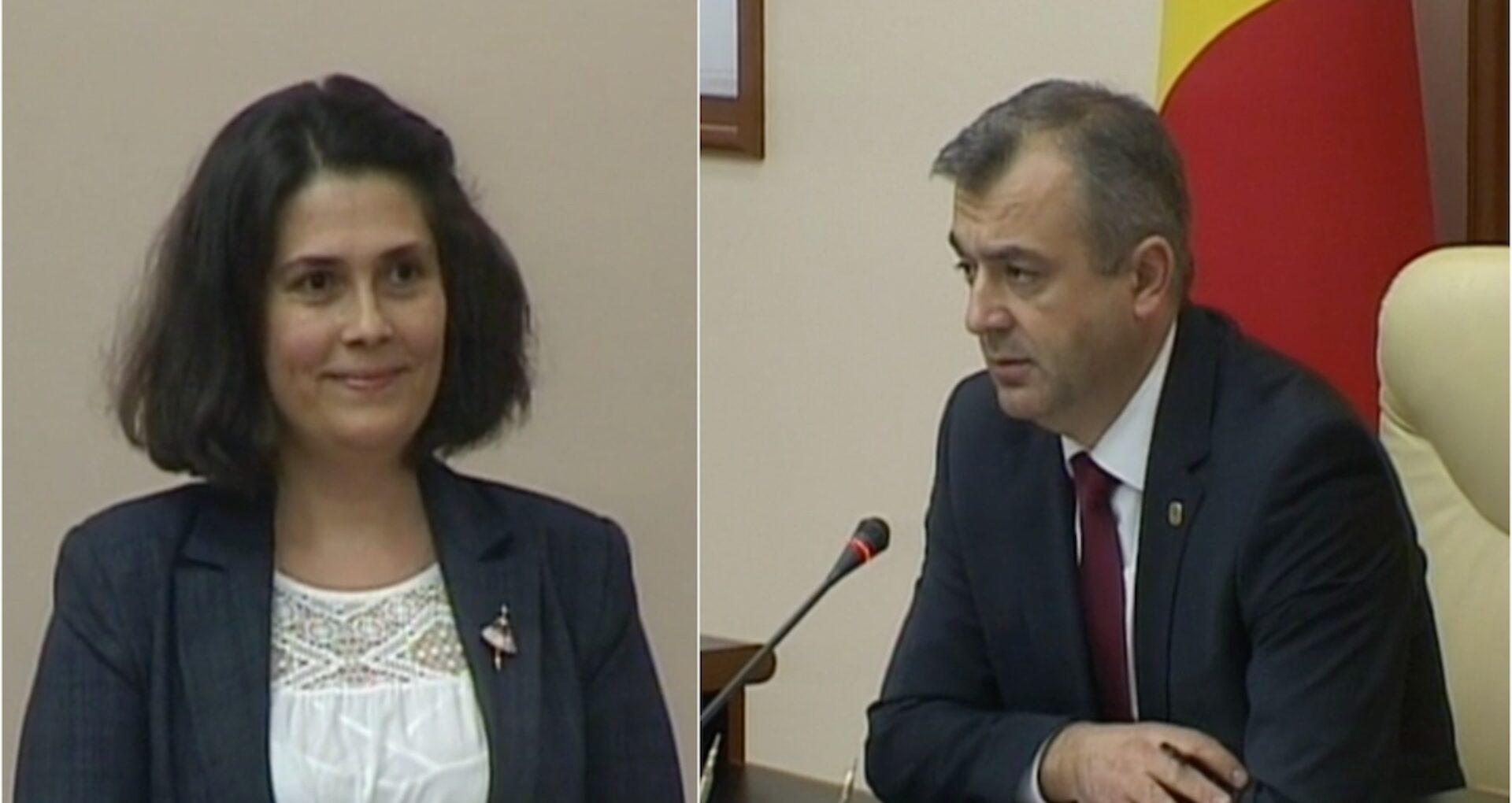 Prim-ministrul și-a numit cumătra în funcția de șefă a Cancelariei de Stat? Cum comentează Ion Chicu