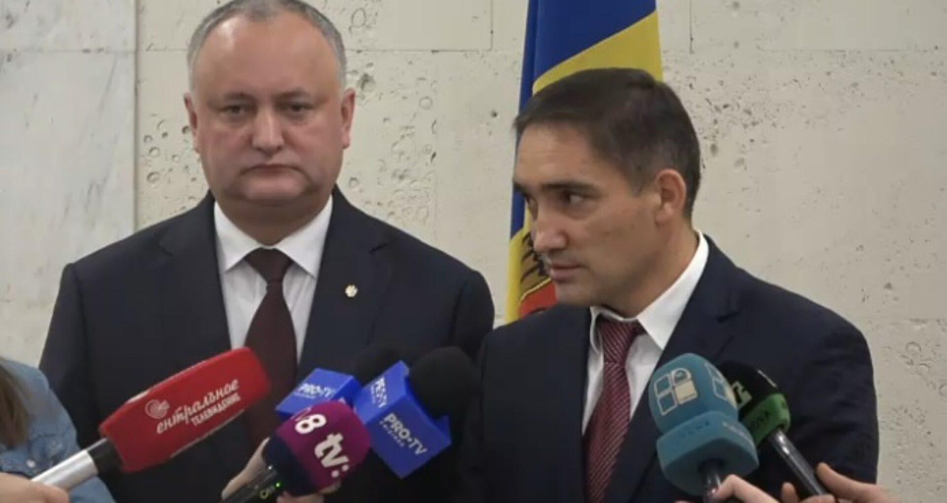 """Cele 5 """"propuneri"""" ale președintelui R. Moldova, Igor Dodon, pentru procurorul general, după preluarea conducerii PG"""