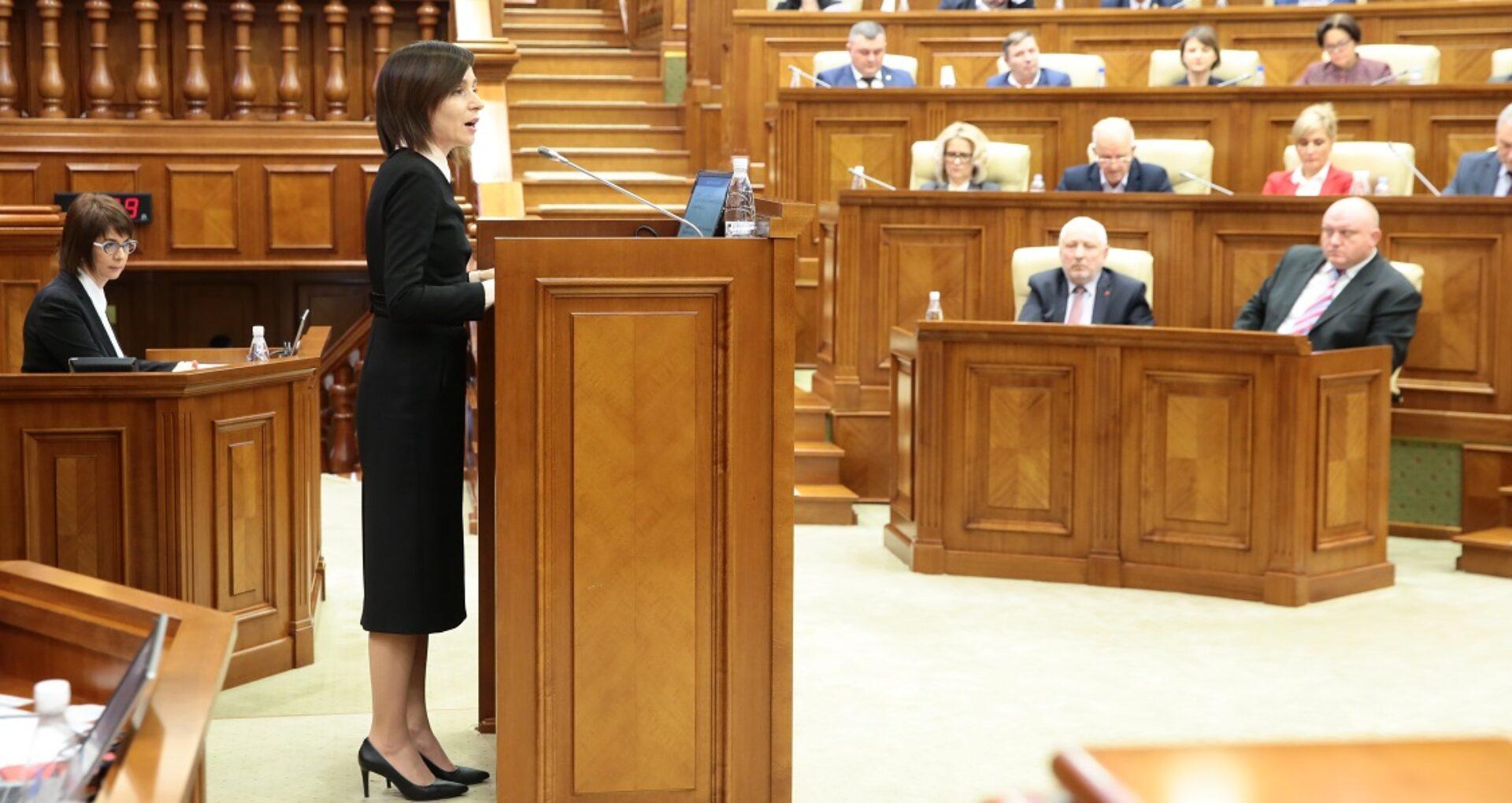 PSRM a cerut demisia Guvernului Sandu. Ce urmează