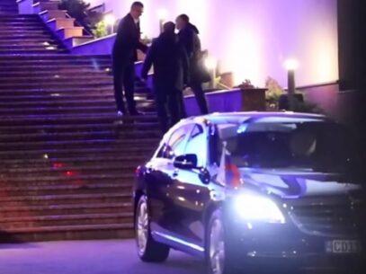 """VIDEO/ Reportera ZdG are """"zapret"""" la petrecerea jurnaliștilor de la Președinție, organizată de Igor Dodon"""