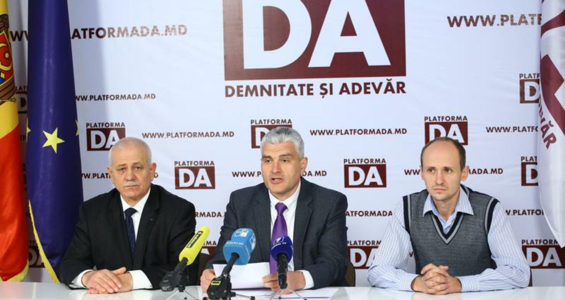 Platforma DA nu va mai înainta niciun candidat pentru alegerile parlamentare noi din circumscripția Hâncești
