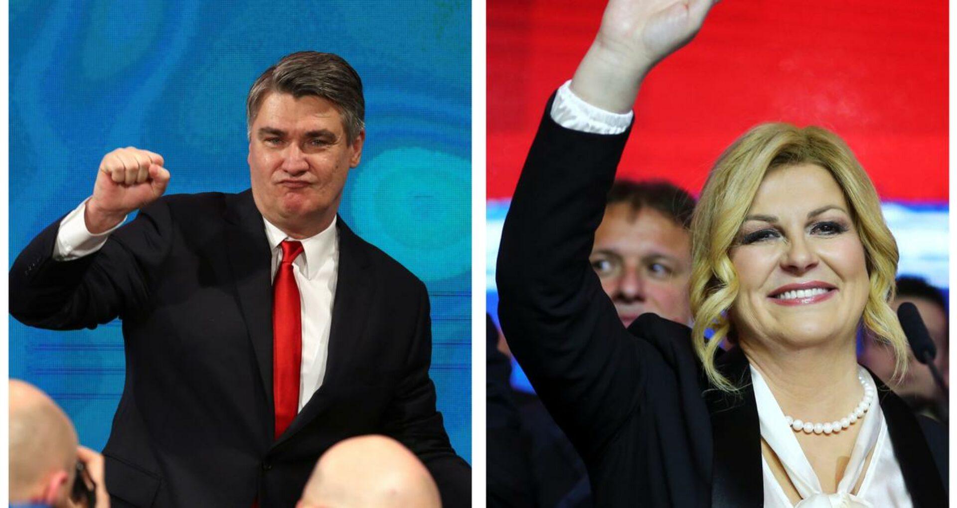 Social-democratul Zoran Milanovic a câştigat  alegerile prezidenţiale în Croaţia