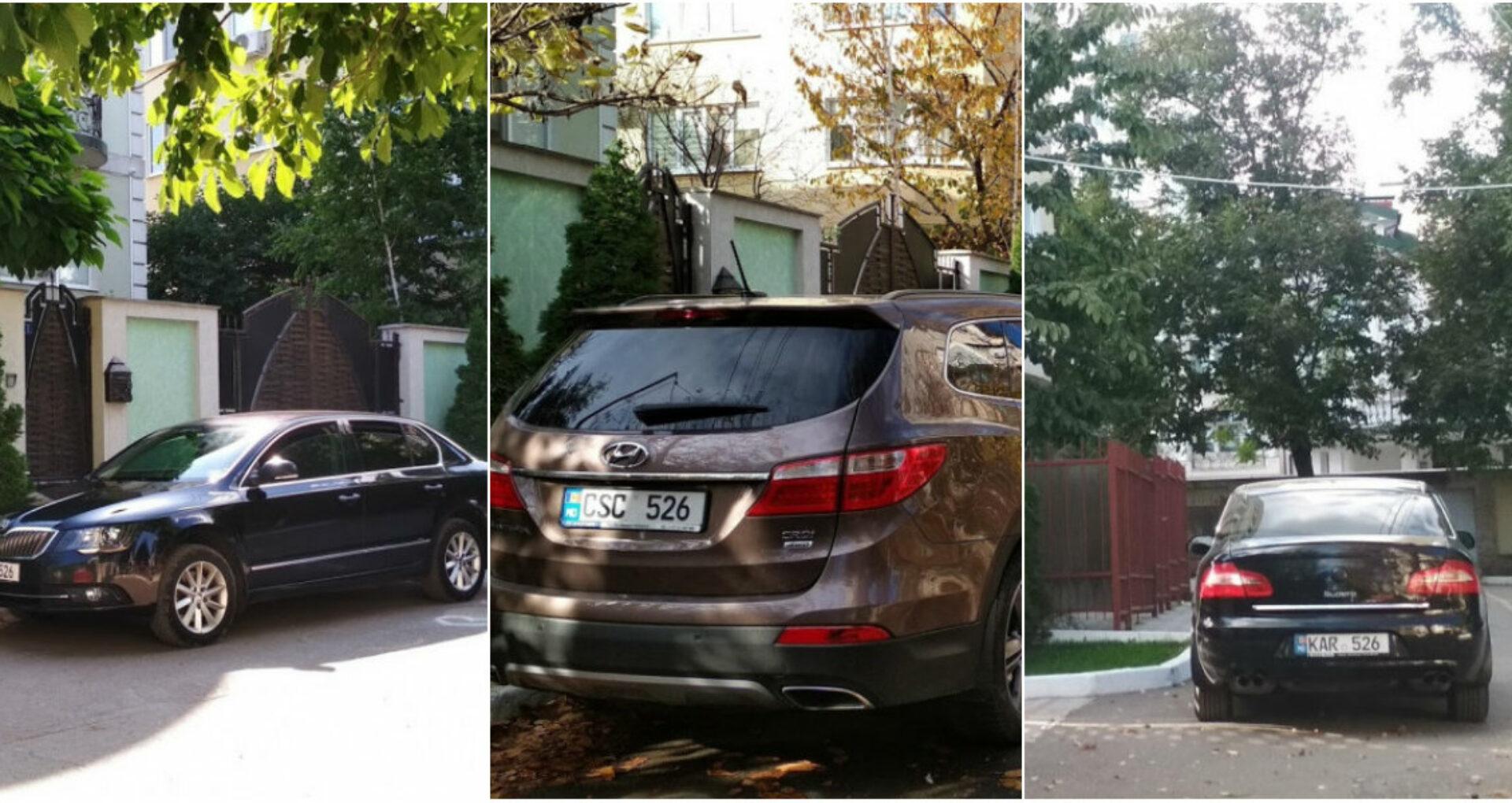 Familia lui Igor Dodon utilizează trei automobile, dar Președinția nu recunoaște