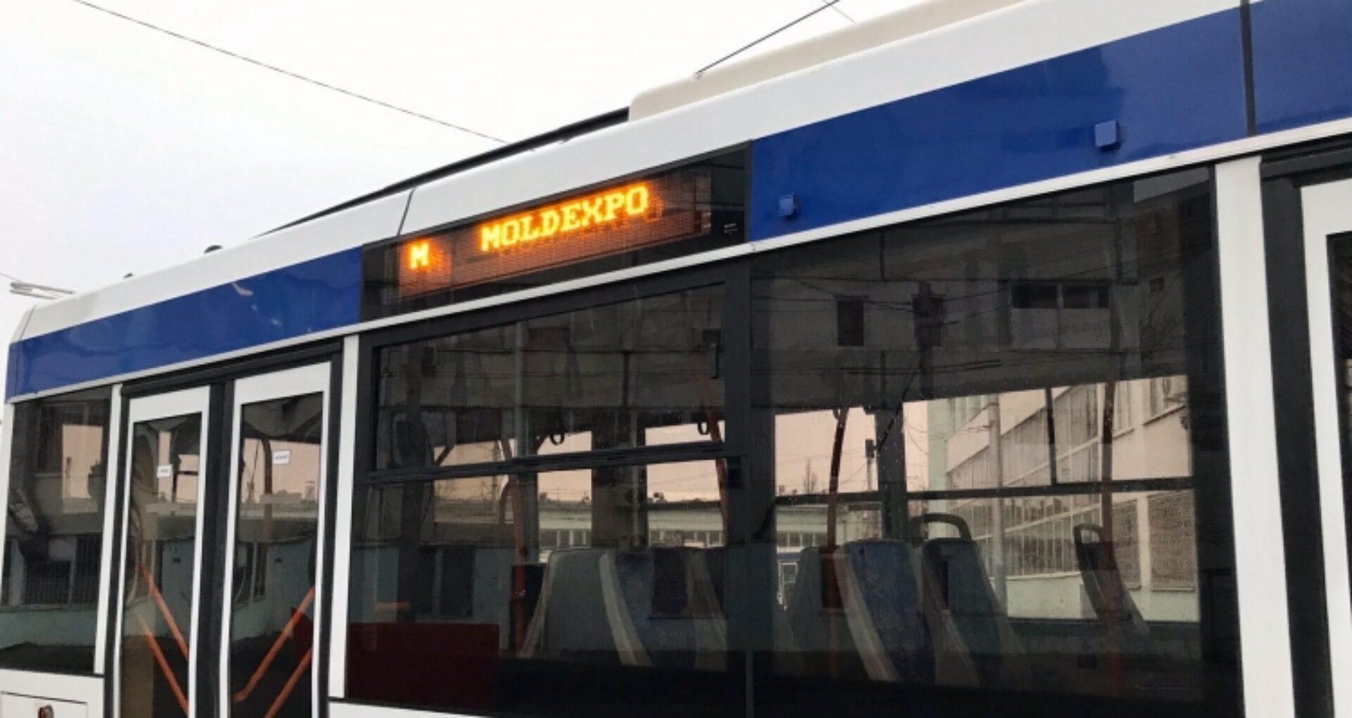 """În acest weekend va fi pusă în circulație o rută de troleibuz care va ajunge direct la """"Moldexpo"""""""