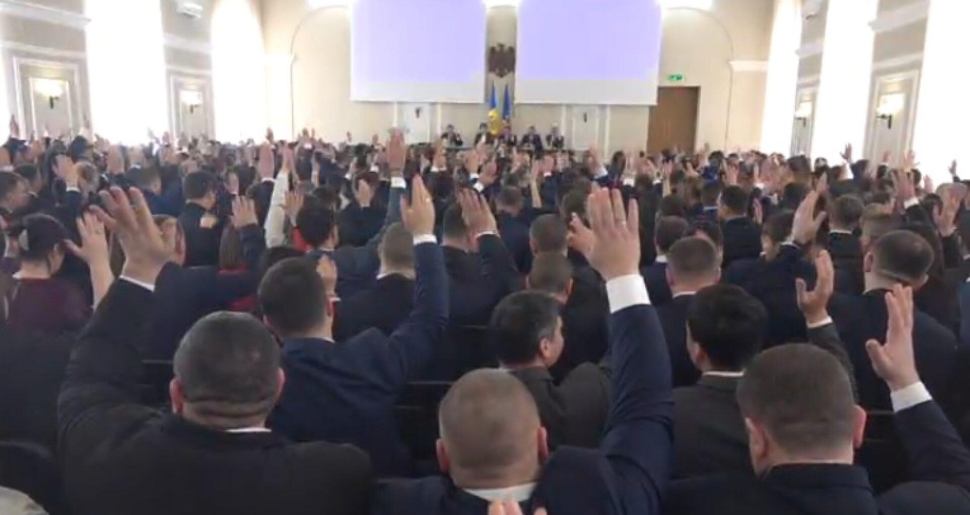 """VIDEO/ Adunarea Generală a Procurorilor. Stoianoglo a prezentat raportul activității PG: """"Cum nu trebuie de lucrat"""""""