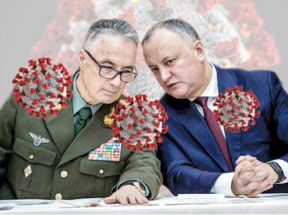 Pamflet. Igor Dodon și generalii coronaviridelor