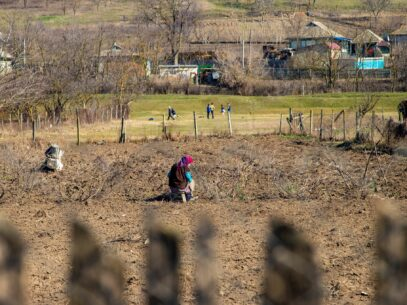 VIDEO/ 8 martie în satul moldovenesc