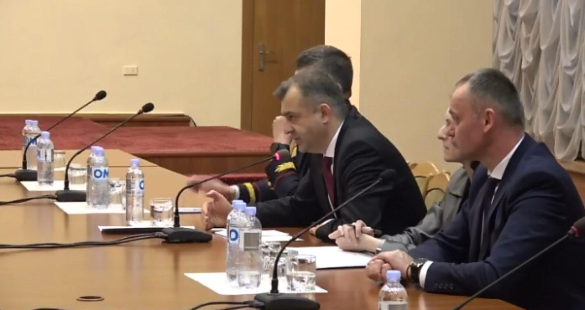 VIDEO/ Decizia luată după discuția, de la Guvern, dintre veterani și premierul Chicu