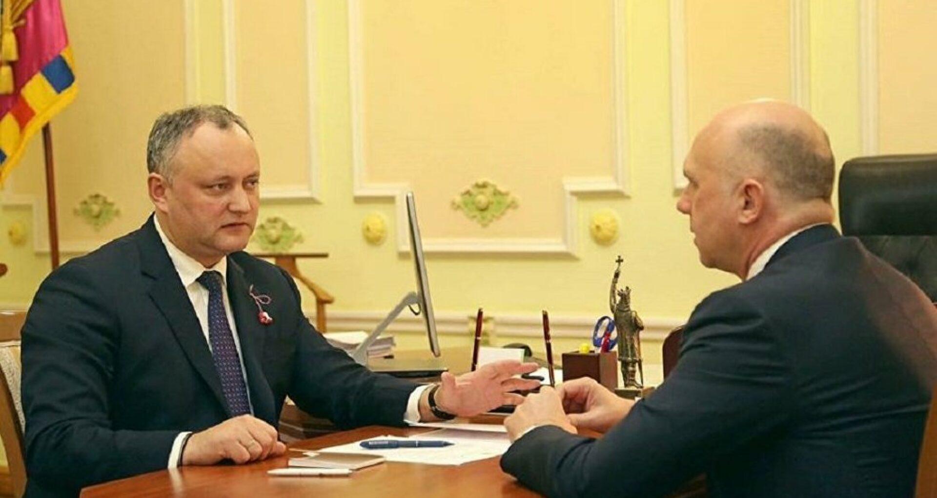 Dodon: Acordul de coaliție este în vigoare, dar PDM nu are mandate pentru a obține una din funcţiile principale în stat