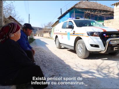 VIDEO/ Sătenii, la taifas despre coronavirus
