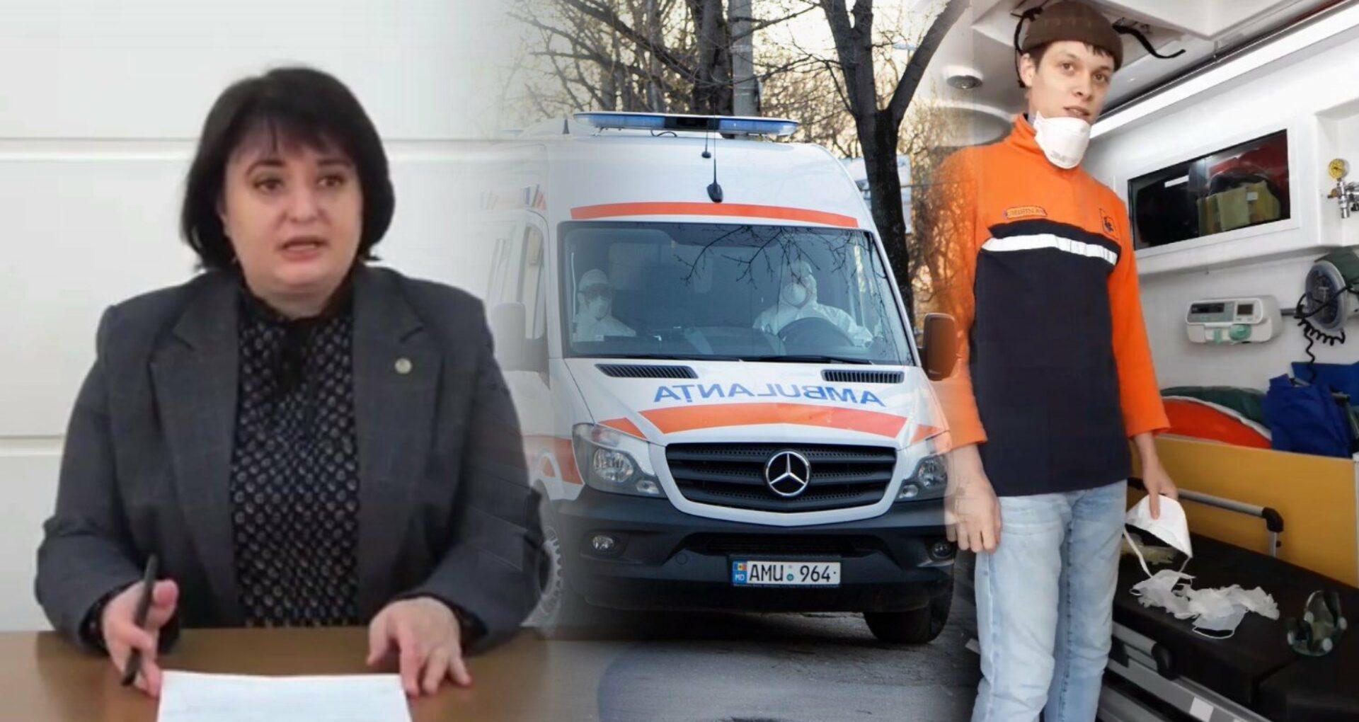 """Clipul video în care un lucrător medical îi arăta ministrei cu ce echipamente sunt dotați a fost șters. """"Am fost rugat insistent"""""""
