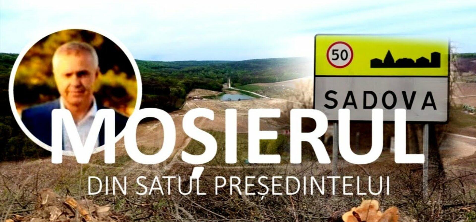 VIDEO/ Moșierul din satul președintelui