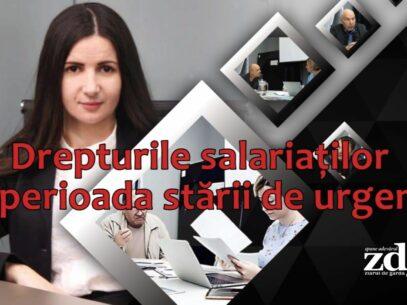Drepturile salariaților în perioada stării de urgență. Clinica Juridică ZdG