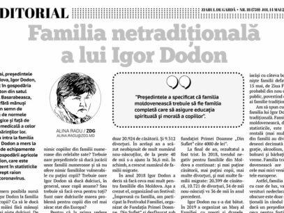 Familia netradițională a lui Igor Dodon
