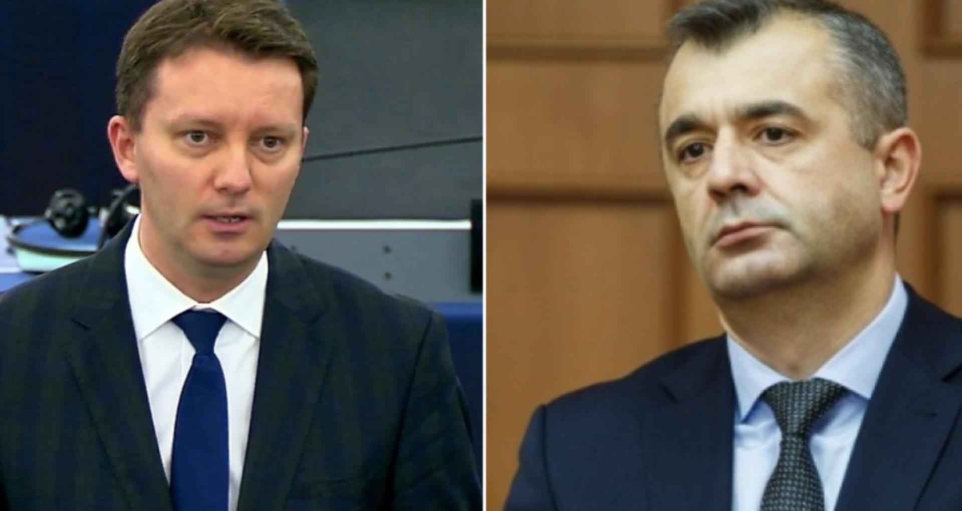 Siegfried Mureșan: Guvernul Republicii Moldova eșuează în gestionarea crizei COVID-19 fiindcă a eșuat și în implementarea reformelor. Reacția lui Ion Chicu