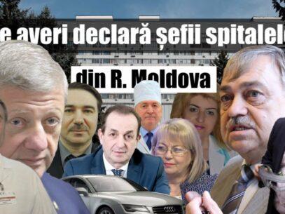 VIDEO/ Ce averi declară șefii  spitalelor din R. Moldova