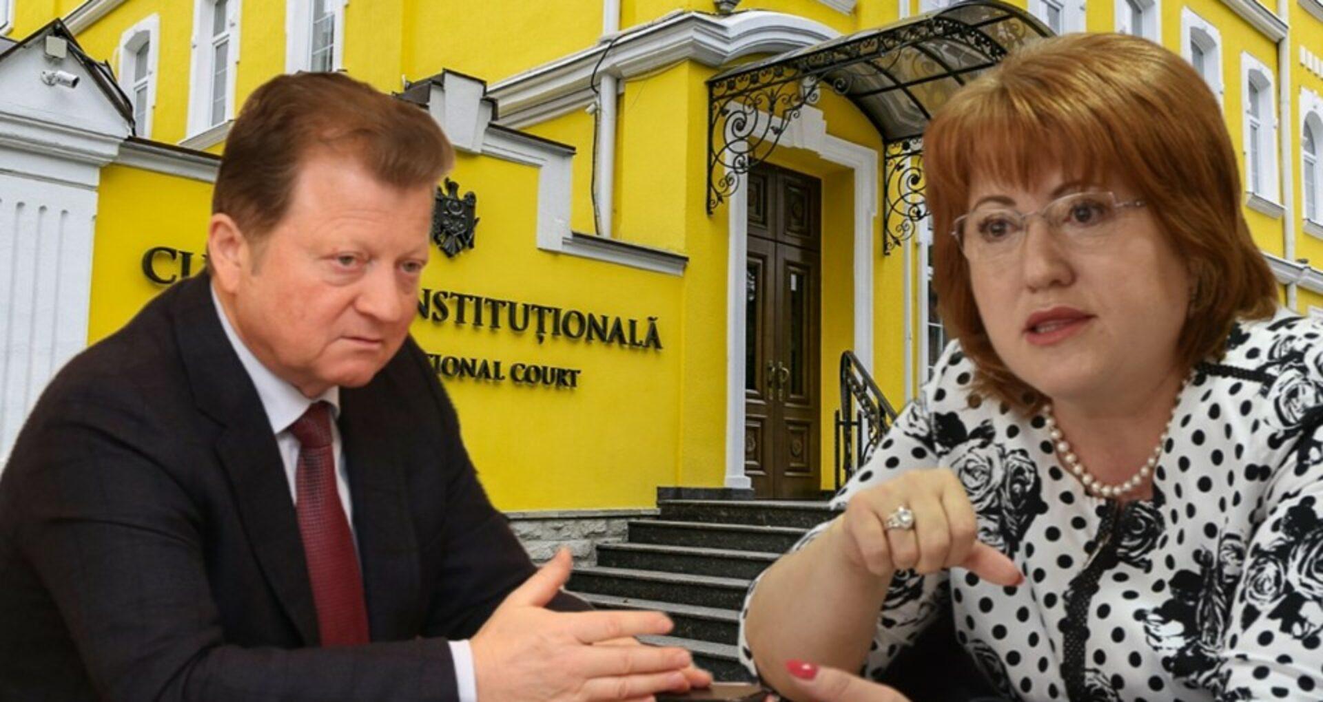 DOC/ Cererea de suspendare a executării hotărârilor CC prin care Vladimir Țurcan a fost destituit din funcția de președinte și aleasă Domnica Manole, respinsă de Judecătoria Chișinău