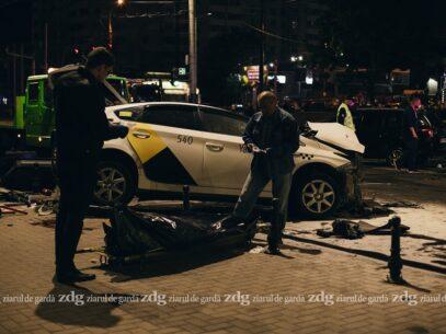 Detalii despre pasagerul din taxi care s-a stins în urma accidentului produs pe bd. Ștefan cel Mare. Mesajul de condoleanțe transmis de instituția în care activa