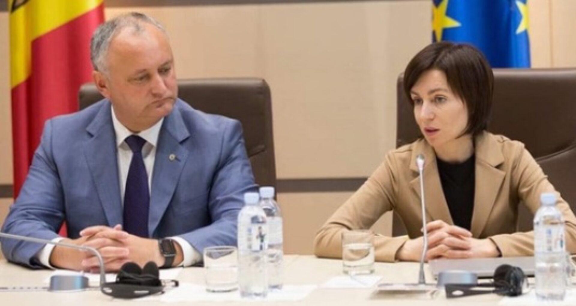 DOC/ Președintele Igor Dodon trebuie să-i aducă scuze publice Maiei Sandu pentru declarații sexiste. Decizia Consiliului pentru asigurarea egalității