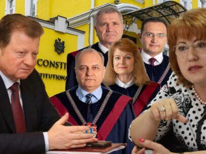 Destituirea lui Vladimir Țurcan: CC a declarat inadmisibilă cererea judecătorului