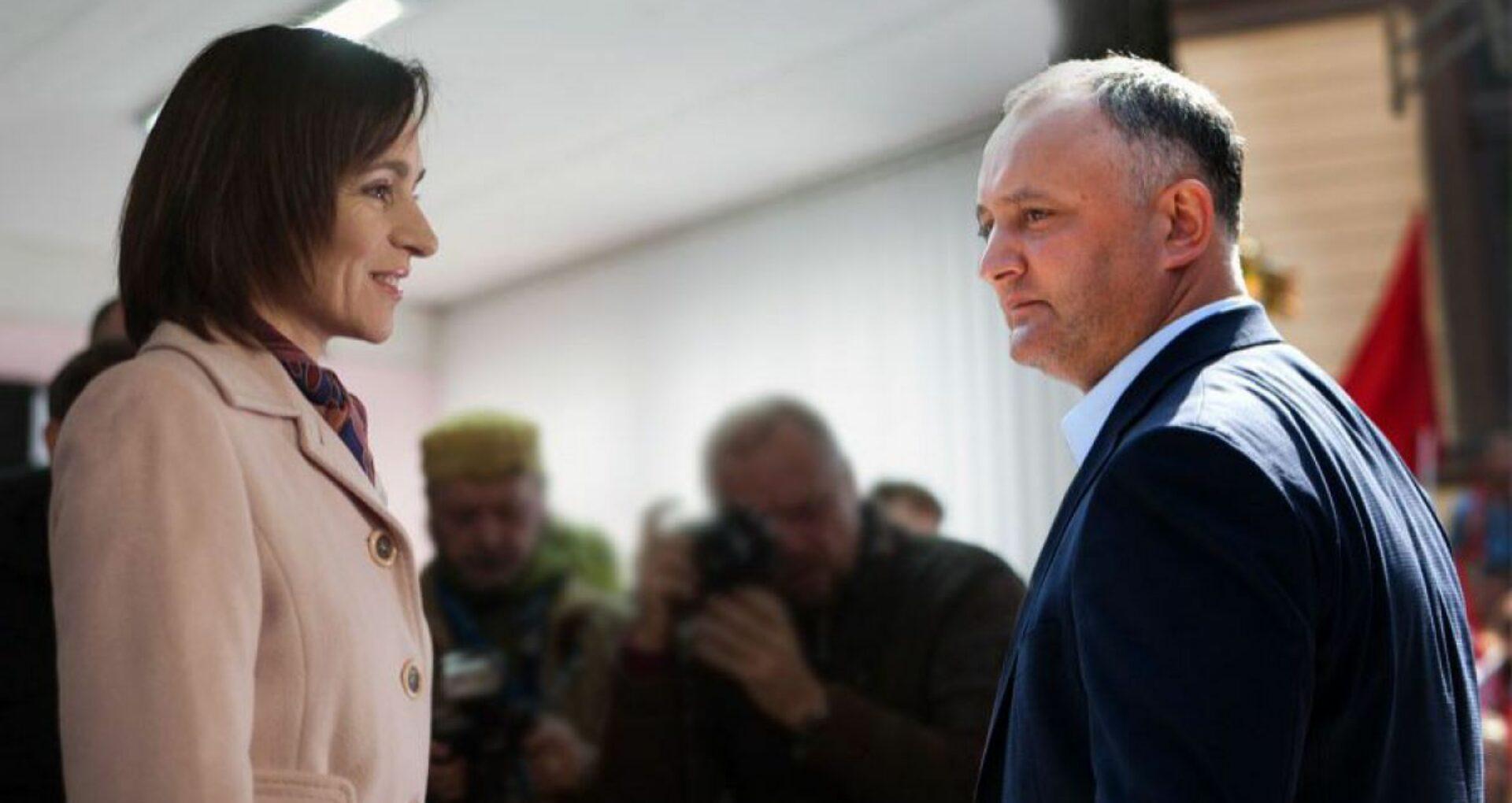 """Maia Sandu îi răspunde lui Igor Dodon: """"Cum credeți, vor oare oamenii un președinte care se hrănește din """"kuliokul"""" bandiților?"""""""