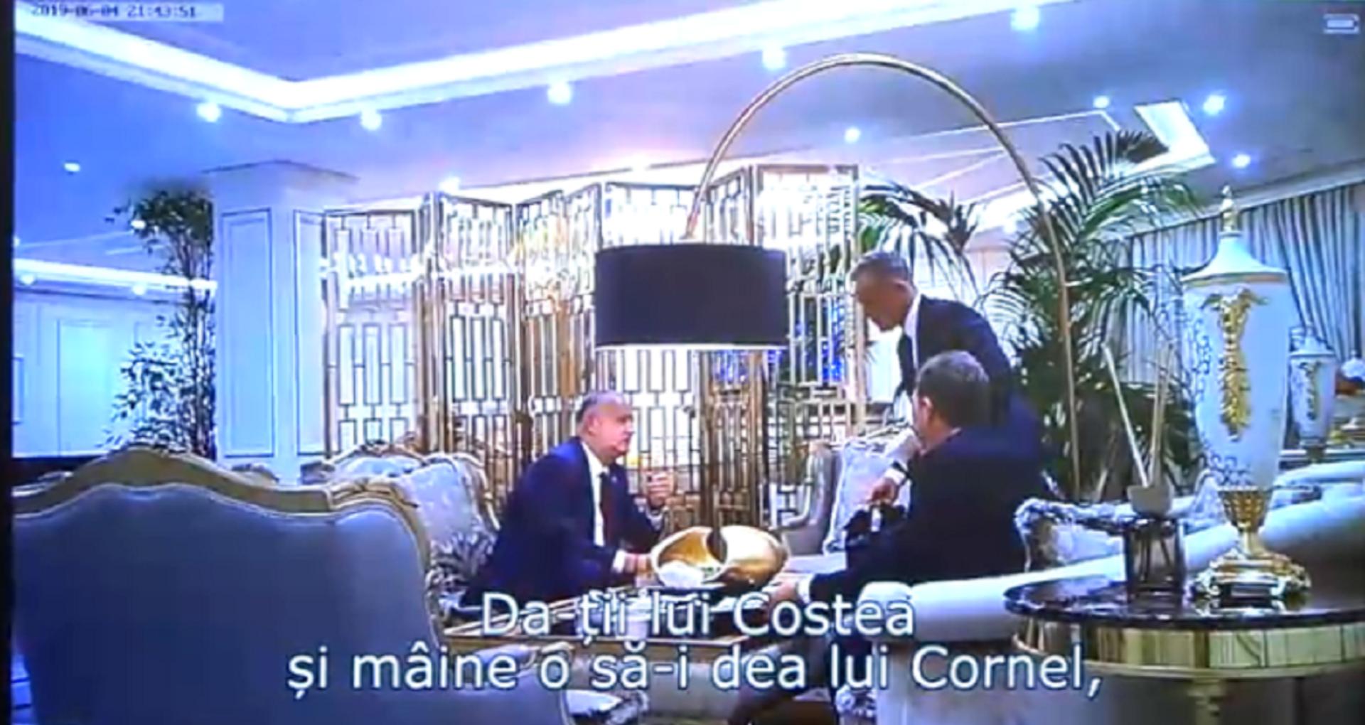 VIDEO/ Un nou fragment de la întâlnirea lui Dodon cu Plahotniuc și Iaralov: Apare o pungă