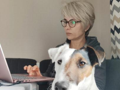 Post-pandemie: câinele, masteratul,  psihologia și eclerele