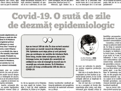 Covid-19. O sută de zile de dezmăț epidemiologic