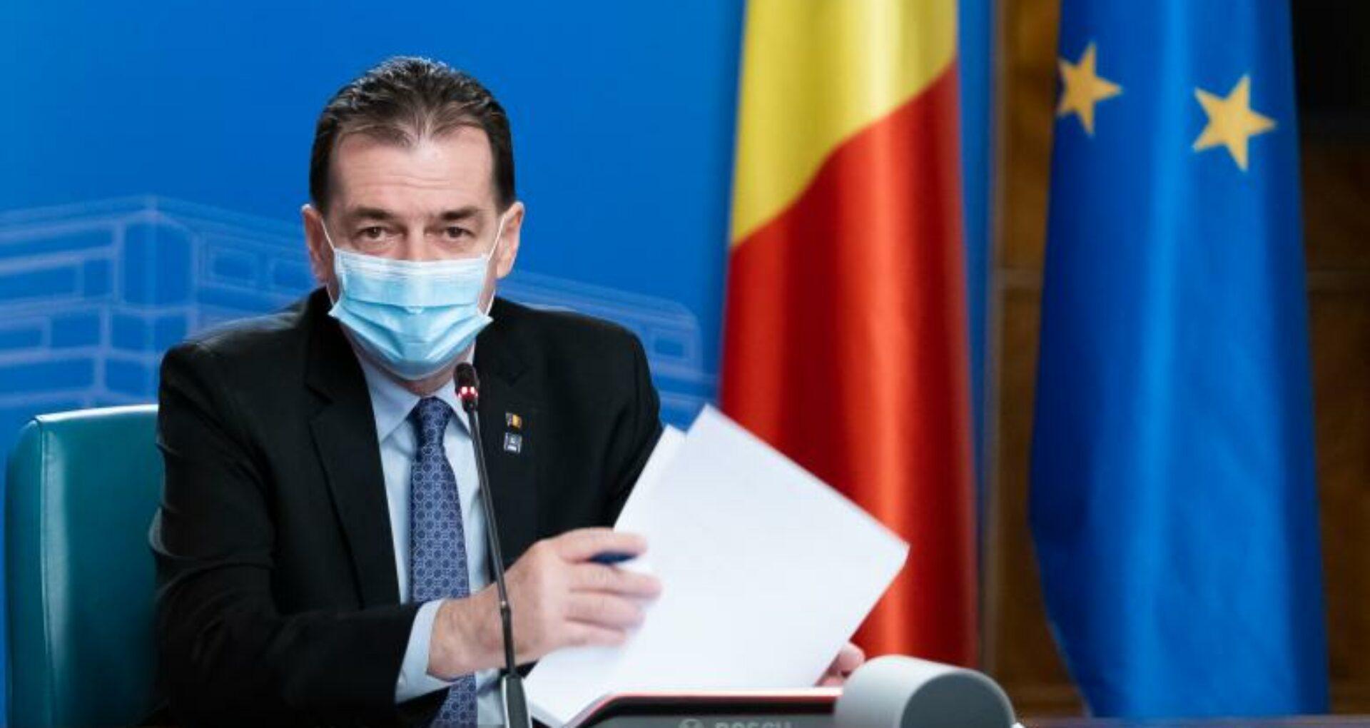 Prim-ministrul României:  Atrag atenţia autorităţilor vremelnice din R. Moldova să nu încerce să politizeze gazoductul Ungheni- Chişinău