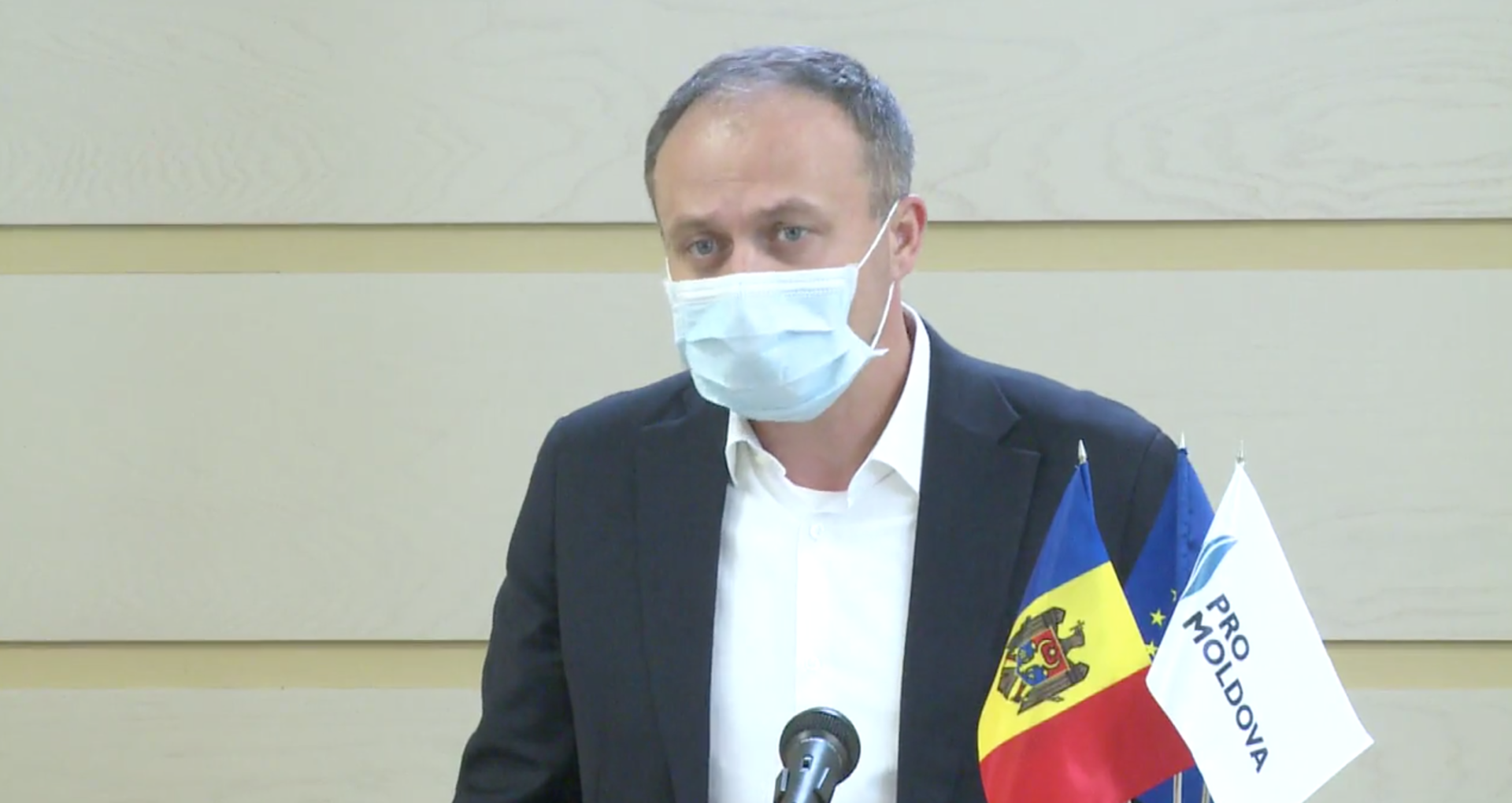 Andrian Candu, infectat cu COVID-19. Mesajul transmis de parlamentar