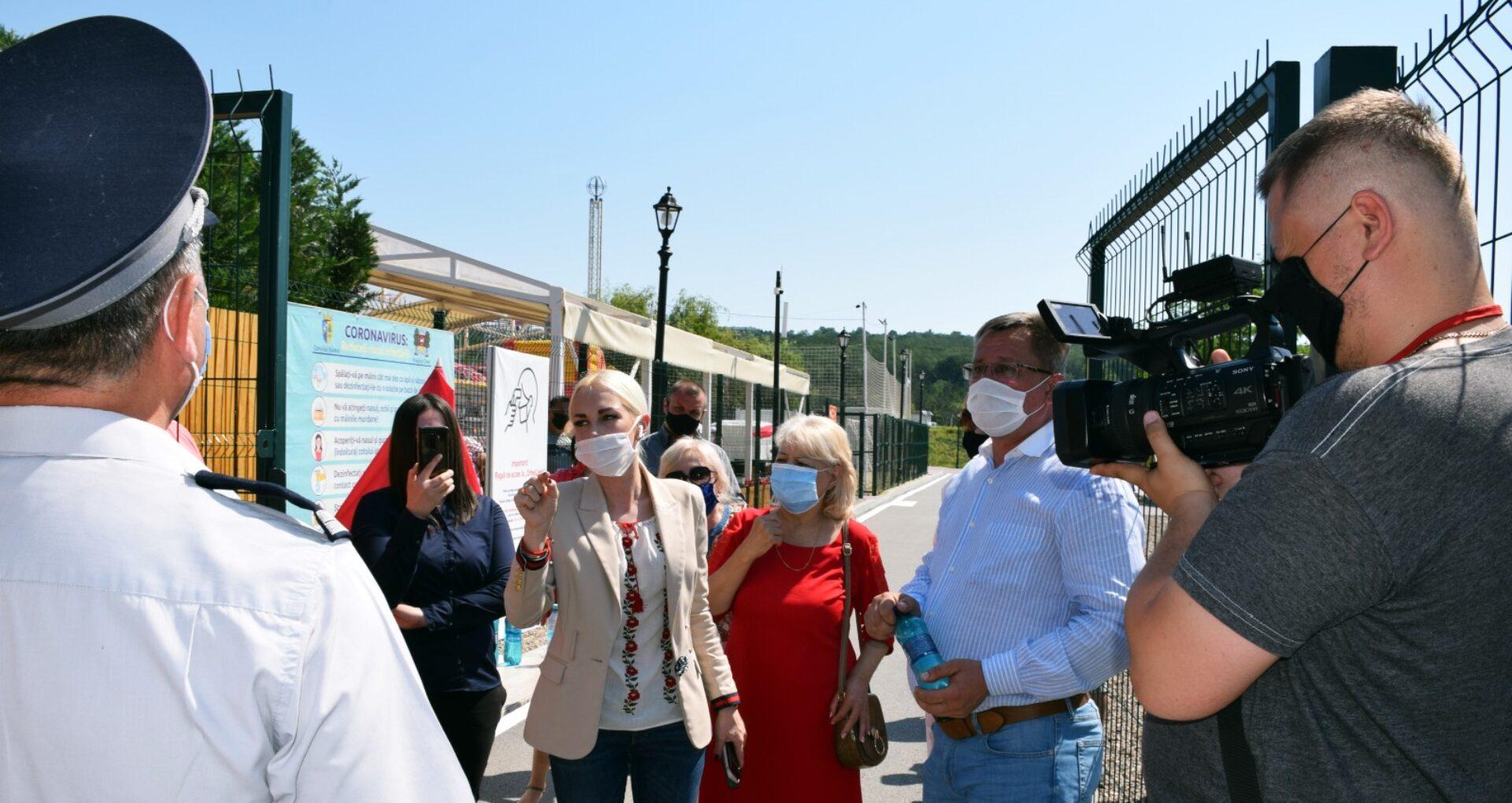 """ANSP atenționează privind """"riscul de răspândire a infecției COVID-19 în parcul de distracții """"Orheiland"""". Partidul Șor cheamă lumea la protest"""