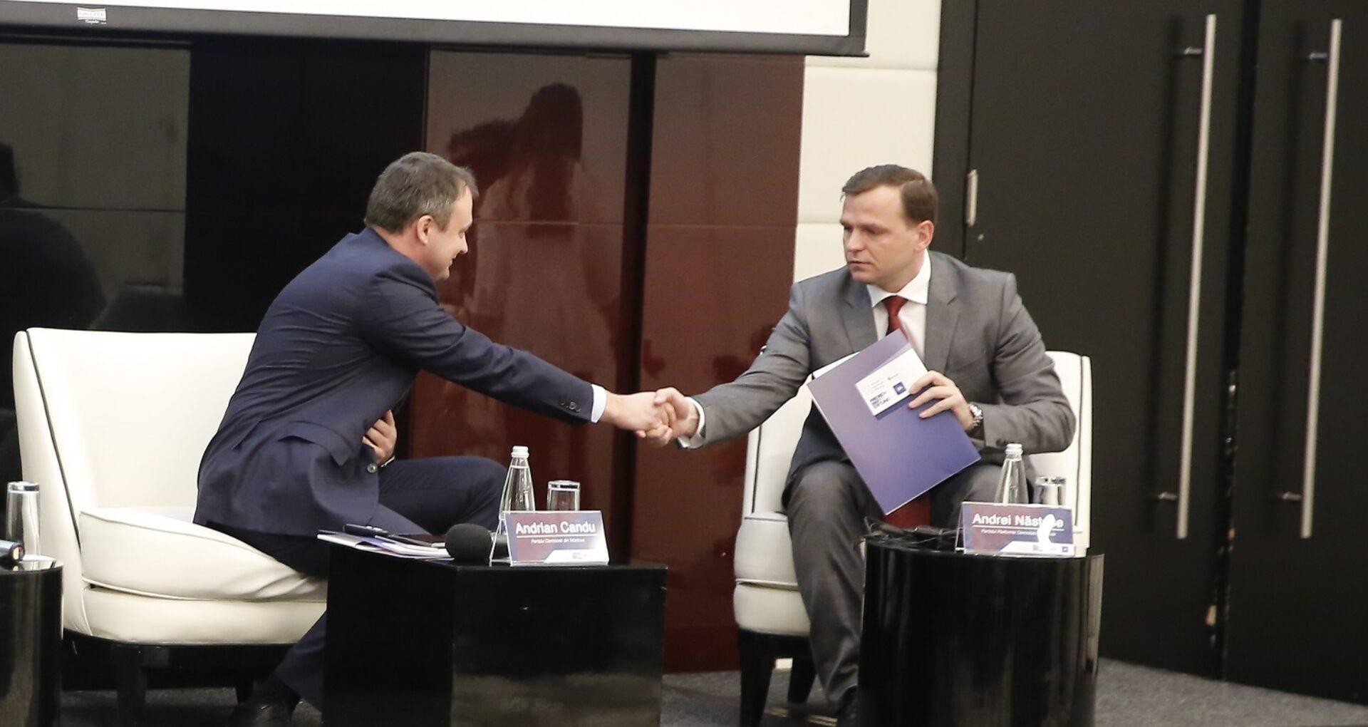 """Candu: """"Pro Moldova"""", gata să-l voteze pe Năstase premier. Suntem în discuții cu PAS și Platforma DA"""
