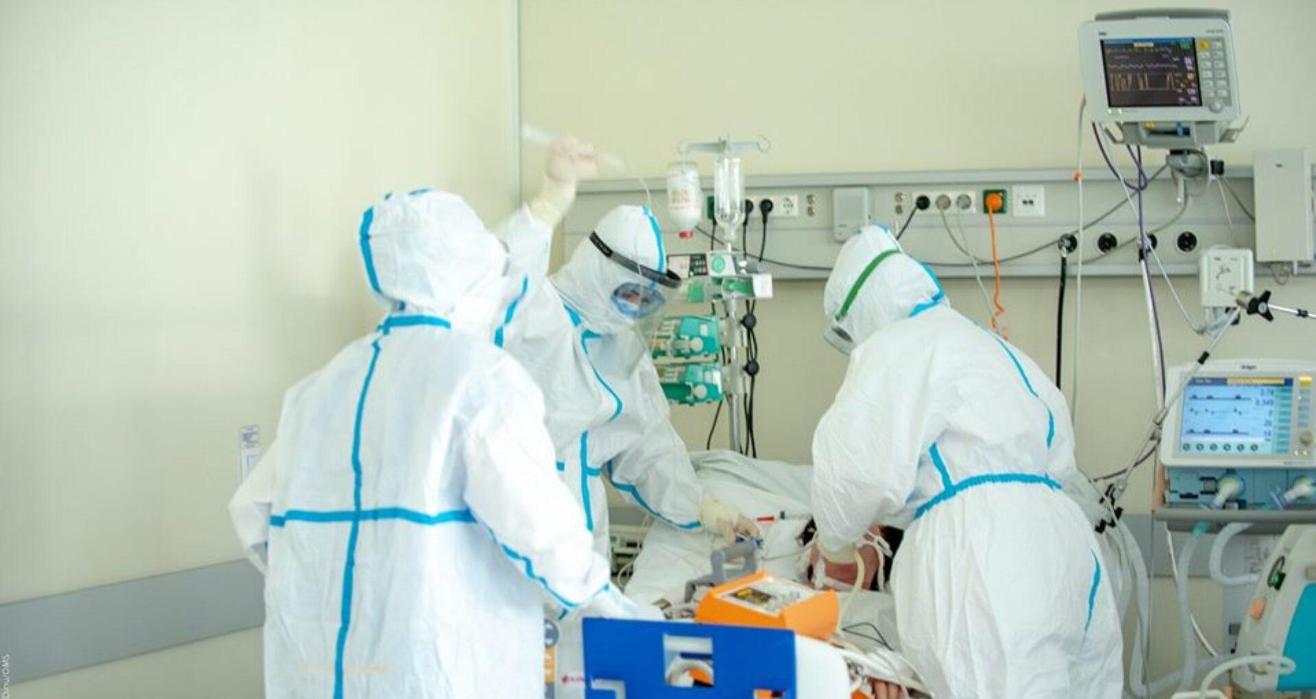Alte 44 de persoane au decedat din cauza complicațiilor provocate de COVID-19 în ultimele 24 de ore