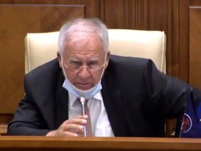 """VIDEO/ Diacov, despre plecarea Efrosiniei Grețu din PDM: """"Frosea, ai făcut o greșeală mai mare decât tine"""""""