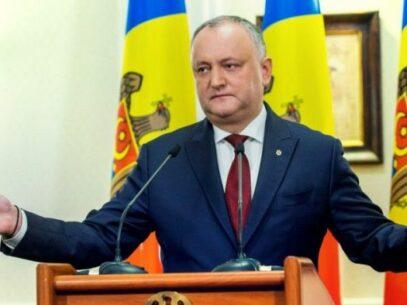Prezidențiale/ Socialiștii își declară susținerea pentru liderul lor informal, Igor Dodon