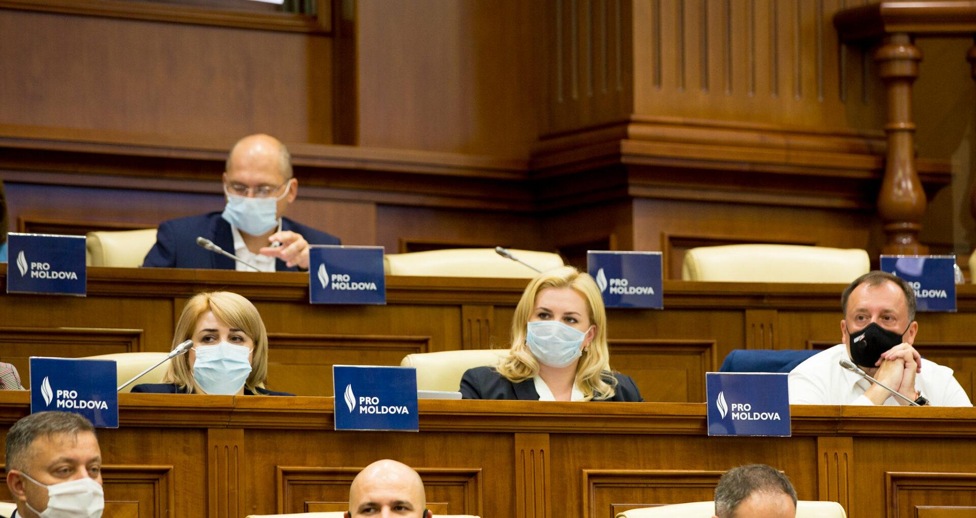 DOC/ Încă un deputat părăsește fracțiunea Pro Moldova. Mesajul postat de parlamentar